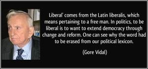Gore Vidal Quote