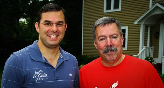 Justin Amash and Tom Urich