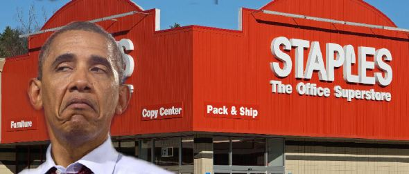 Staples did it